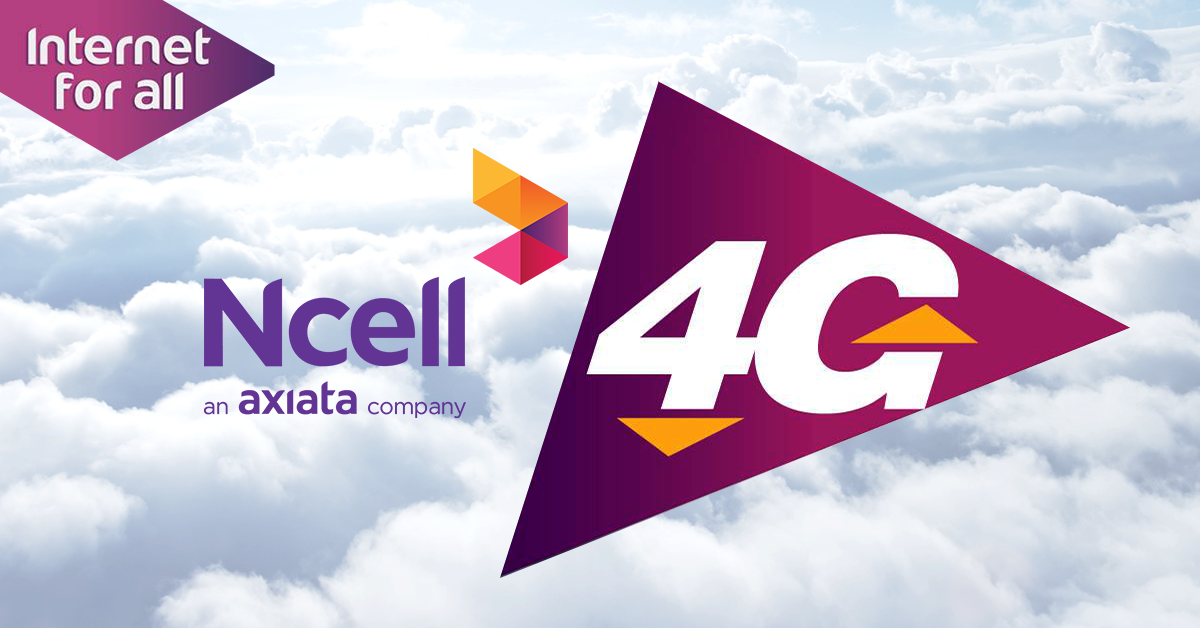 Ncell 4G covers 1000 places