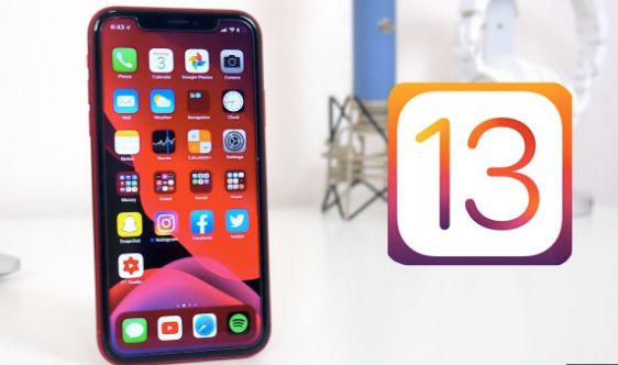download and install iOS 13